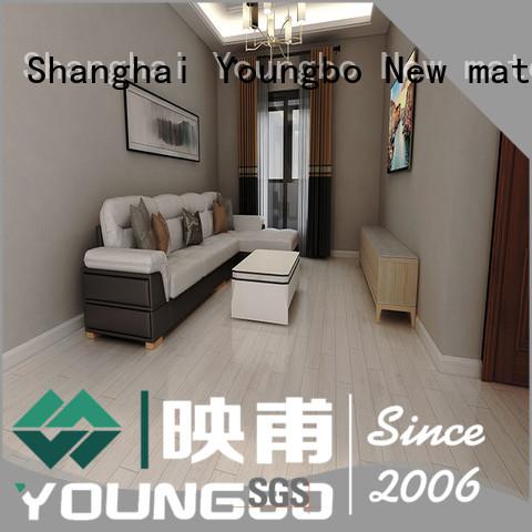 YOUNGBO 3mm foam wallpaper wholesale for bathroom