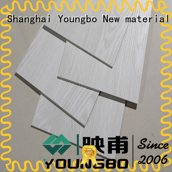 YOUNGBO lvt vinyl strip flooring from China for bathroom usage