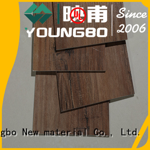 YOUNGBO best quality self adhesive floor planks great deal for home