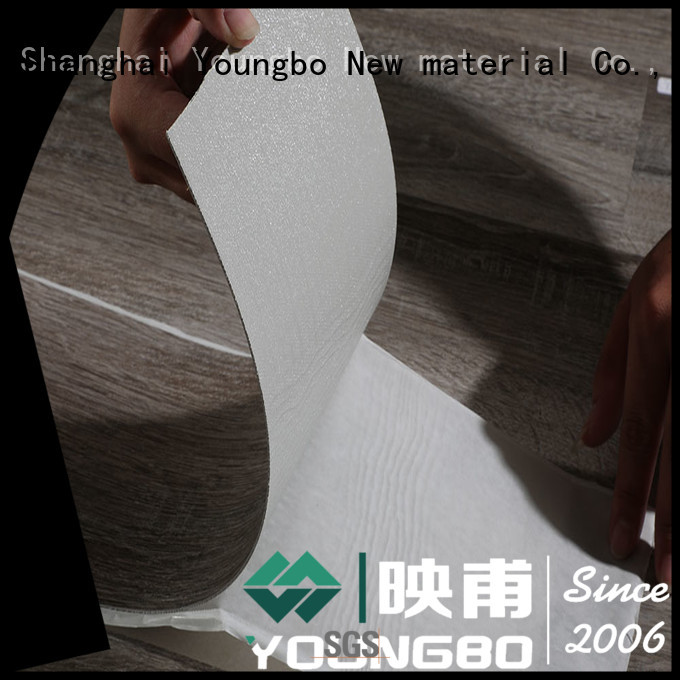 YOUNGBO shape Stone plastic composite wholesale for bedroom