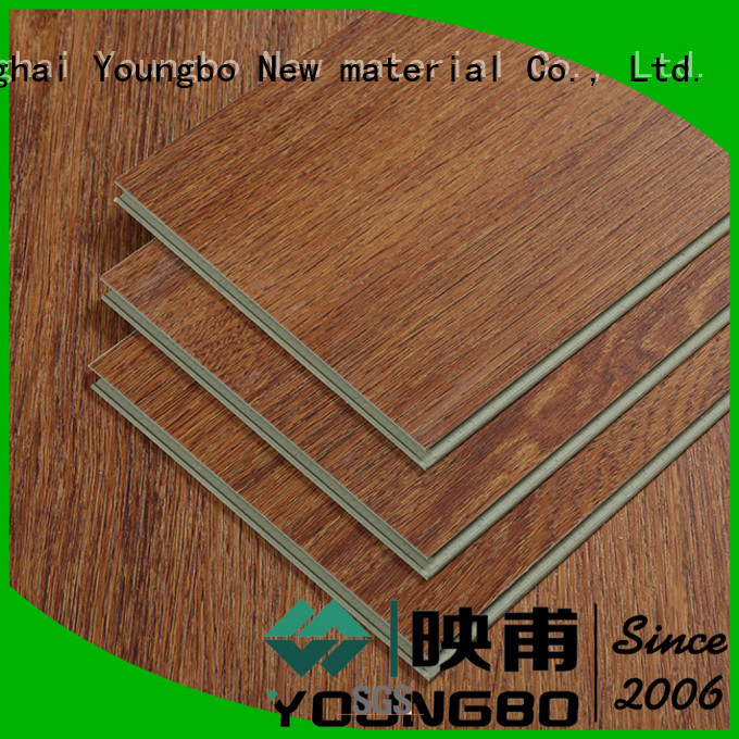 YOUNGBO cheap stone plastic composite wholesale for for Indoor Residential