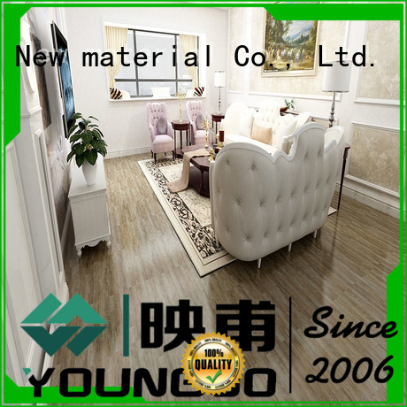 YOUNGBO low price foam wallpaper wholesale for bathroom usage