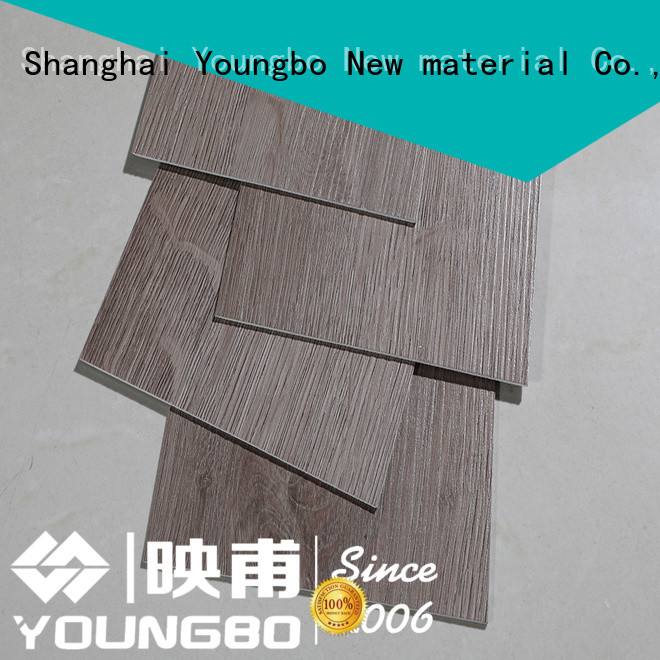 YOUNGBO hot sell self-adhesive floor manufacturers for bathroom usage