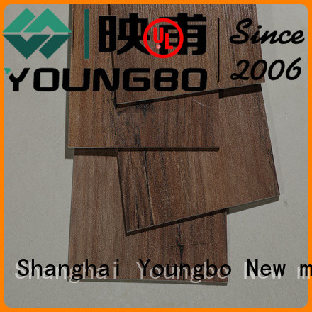 YOUNGBO self lvt plank flooring source now for bathroom
