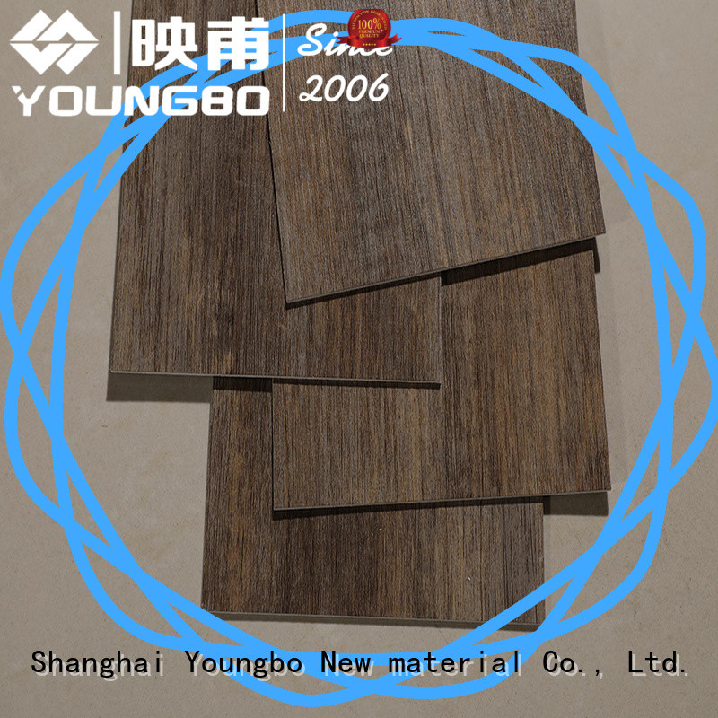 YOUNGBO hot recommended interlocking vinyl flooring export worldwide for bathroom