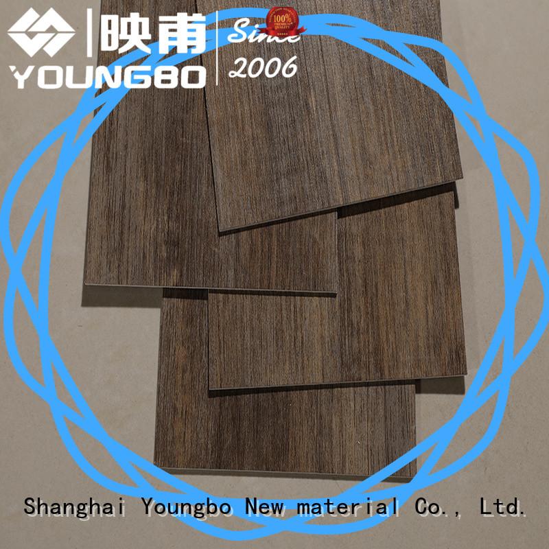 YOUNGBO hot recommended interlocking vinyl flooring export worldwide for bathroom