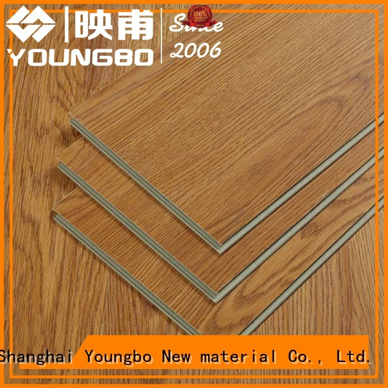 YOUNGBO grain interlocking flooring wholesale for for Indoor Residential