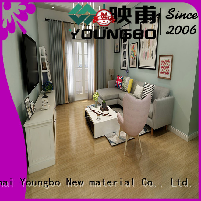 YOUNGBO interlocking foam wallpaper manufacturers for bathroom usage