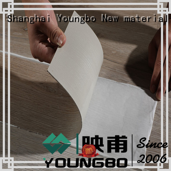 YOUNGBO hot-sale pvc vinyl flooring for garage