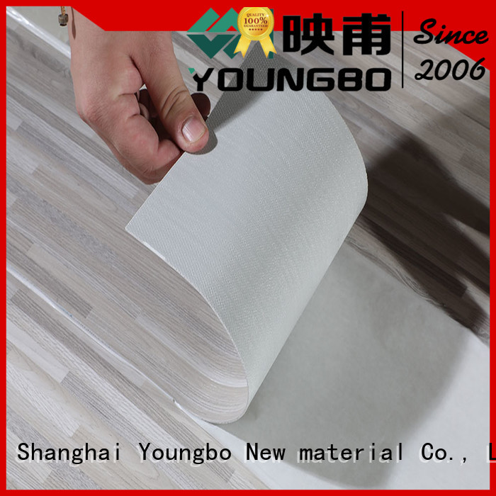 YOUNGBO pvc plastic flooring manufacturers inquire now for bedroom
