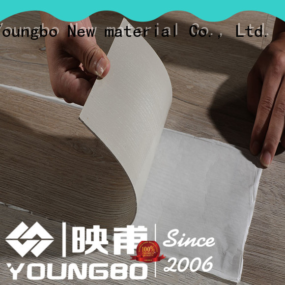YOUNGBO hot sale Stone plastic composite awarded supplier for bedroom