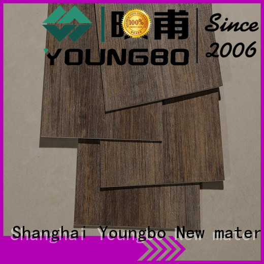 YOUNGBO 20mm self-adhesive floor order now for bathroom usage