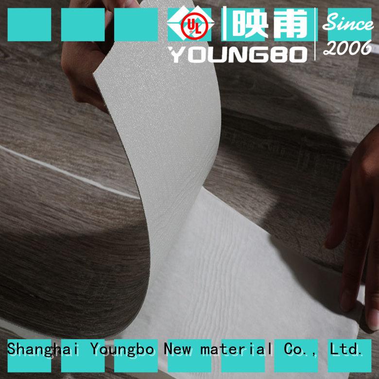Stone plastic composite pvc popular for living room