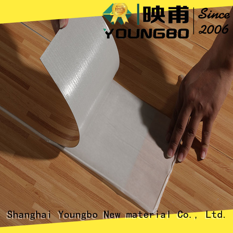 YOUNGBO high-quality pvc vinyl flooring export worldwide