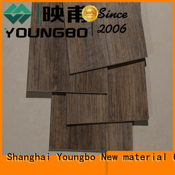 YOUNGBO hot recommended lvt vinyl flooring order now for bathroom usage