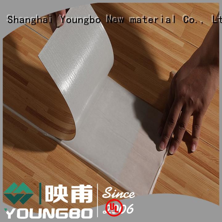 YOUNGBO flooring pvc floor tiles popular for office