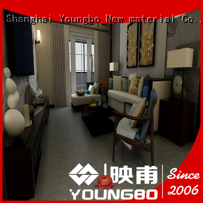 YOUNGBO Stone plastic composite inquire now for indoor