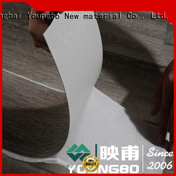 YOUNGBO 3mm foam wallpaper china supplier for bathroom usage