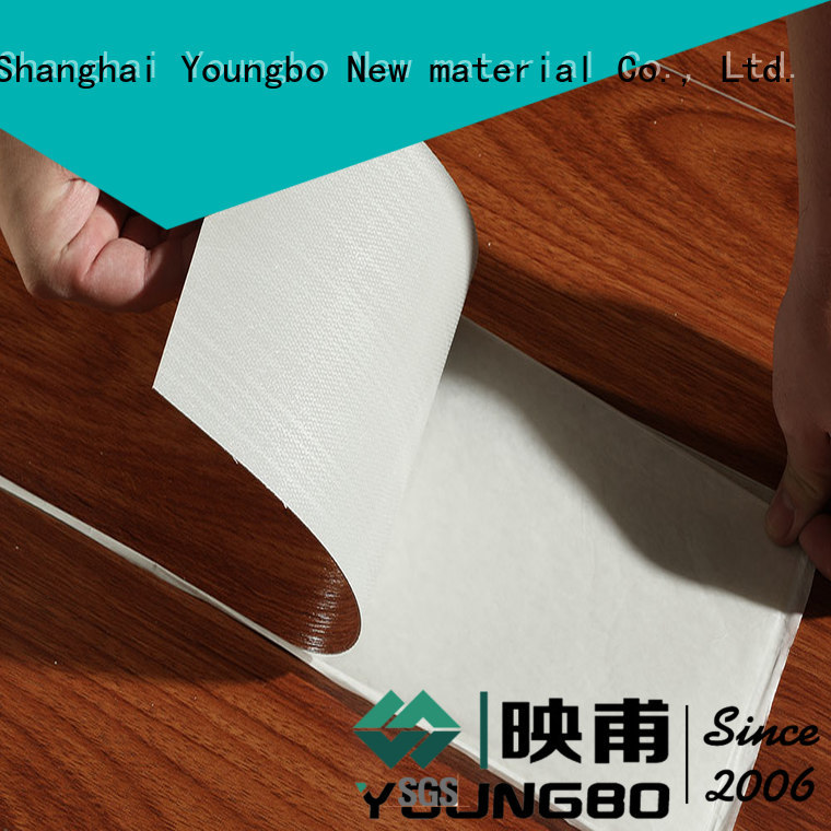 YOUNGBO best plastic flooring manufacturers popular for bedroom