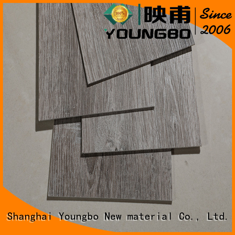 YOUNGBO hot sell lvt plank flooring source now for bathroom