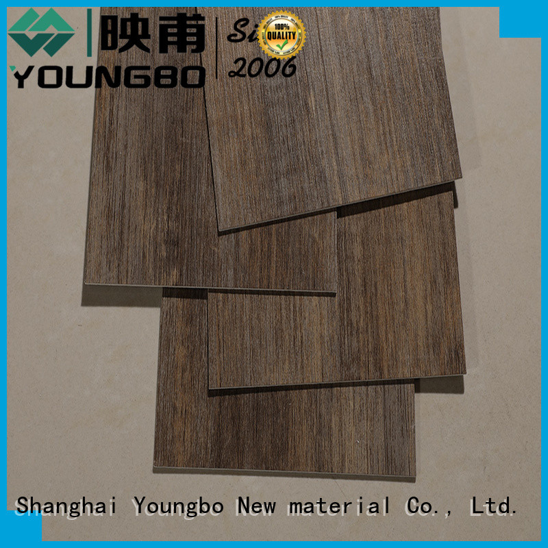 YOUNGBO 5 star reviews self adhesive vinyl flooring manufacturers for bathroom