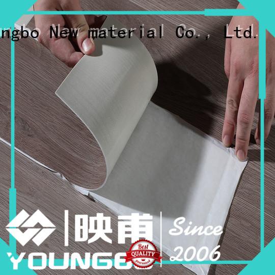 YOUNGBO hot-sale vinyl flooring tiles online for office