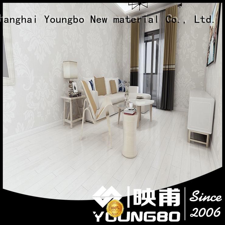 YOUNGBO interlocking foam wallpaper china supplier for bathroom