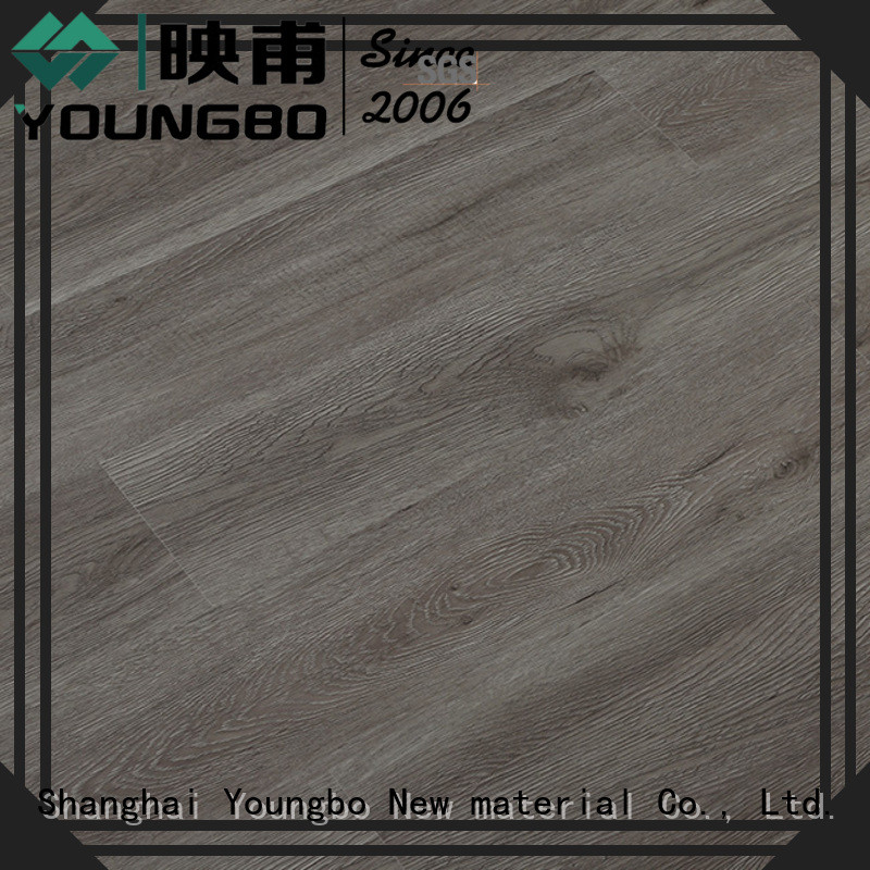 YOUNGBO 5 star reviews vinyl locking flooring chinese manufacturer for for Indoor Residential
