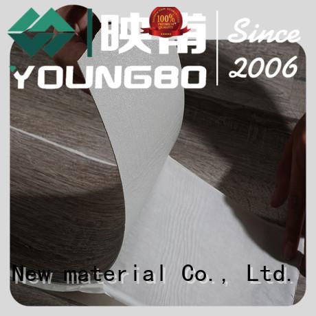 YOUNGBO tiles pvc flooring tiles export worldwide for office