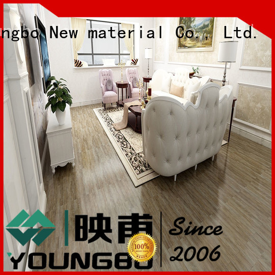 YOUNGBO highly recommend Stone plastic composite popular for bedroom