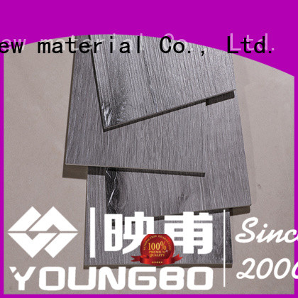 YOUNGBO luxury vinyl tiles from China for home