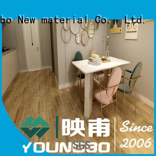 Eco-friendly self adhesive vinyl floor tiles back for bathroom usage