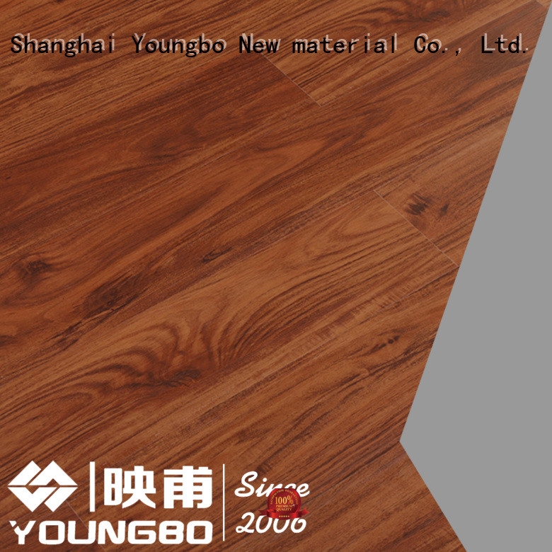 YOUNGBO waterproof vinyl locking flooring chinese manufacturer
