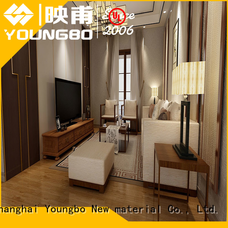 YOUNGBO hot recommended foam wallpaper china supplier for bathroom usage