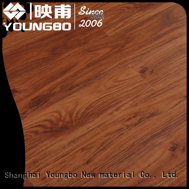 YOUNGBO stone plastic composite chinese manufacturer for for Indoor Residential