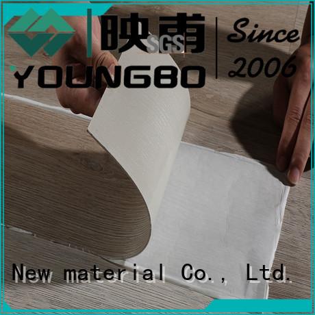 YOUNGBO interlocking foam wallpaper manufacturers for bathroom