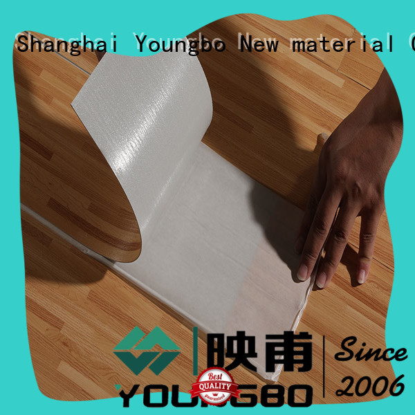 YOUNGBO pvc plastic flooring manufacturers inquire now for indoor