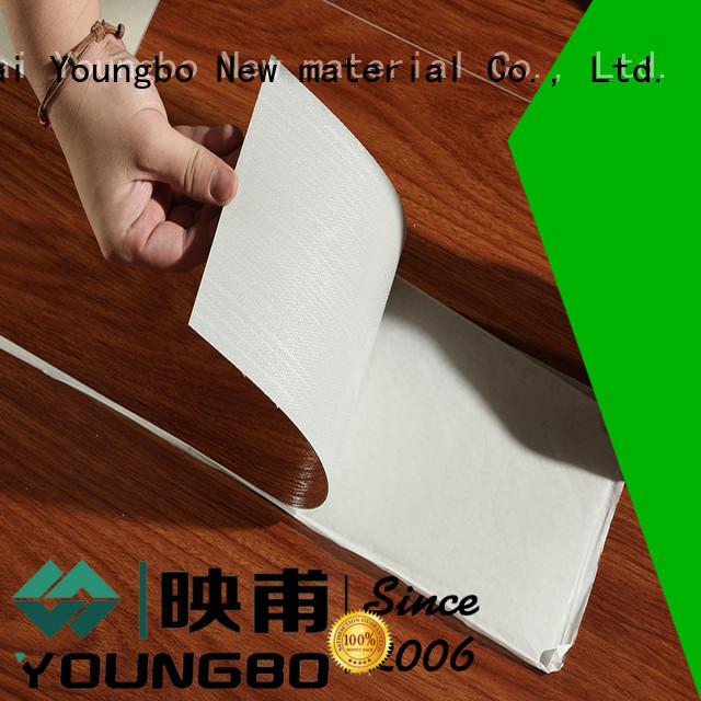 YOUNGBO cheap Stone plastic composite awarded supplier for indoor