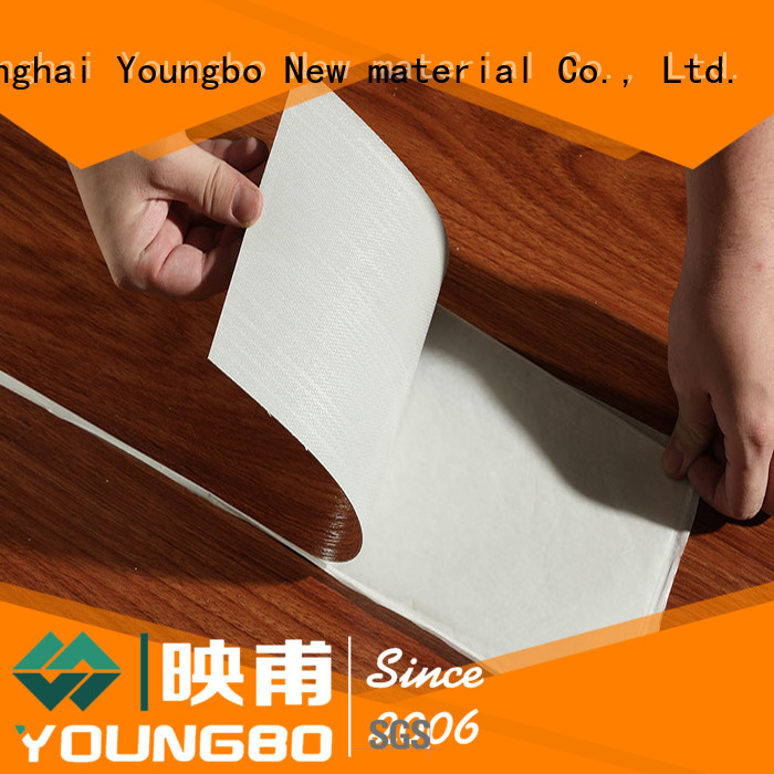 YOUNGBO low price foam wallpaper china supplier for home