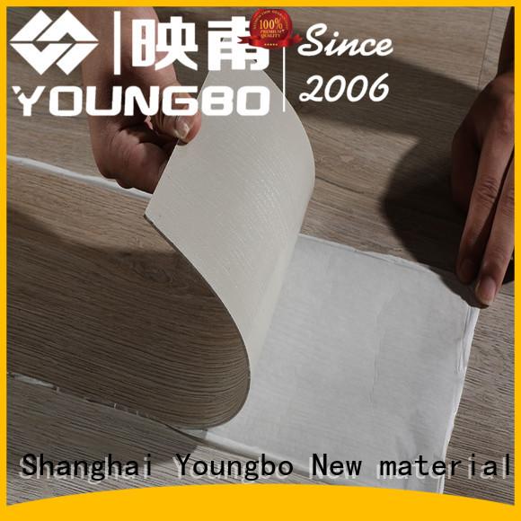 YOUNGBO vinyl pvc floor tiles online