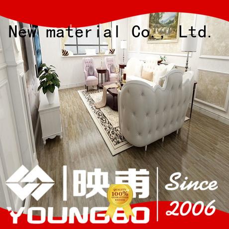 Eco-friendly vinyl flooring tile dry chinese manufacturer for hospital