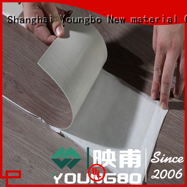 YOUNGBO interlocking foam wallpaper wholesale for bathroom usage