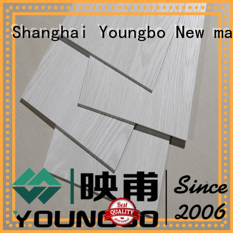 YOUNGBO 5 star reviews vinyl strip flooring manufacturers for bathroom usage