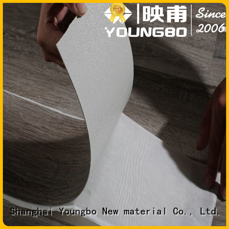 YOUNGBO good quality pvc vinyl flooring source now for home