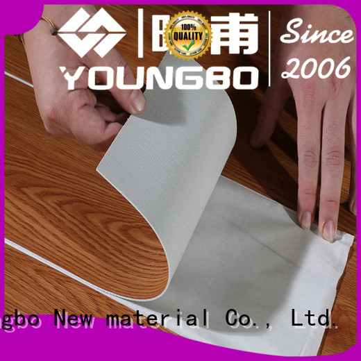 YOUNGBO shape plastic flooring manufacturers inquire now for indoor