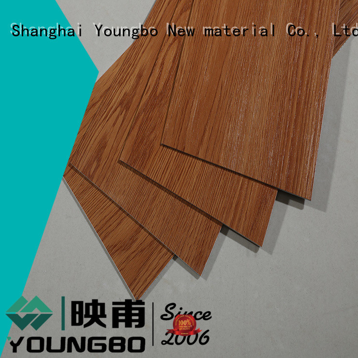 YOUNGBO vinyl self adhesive floor planks order now for bathroom