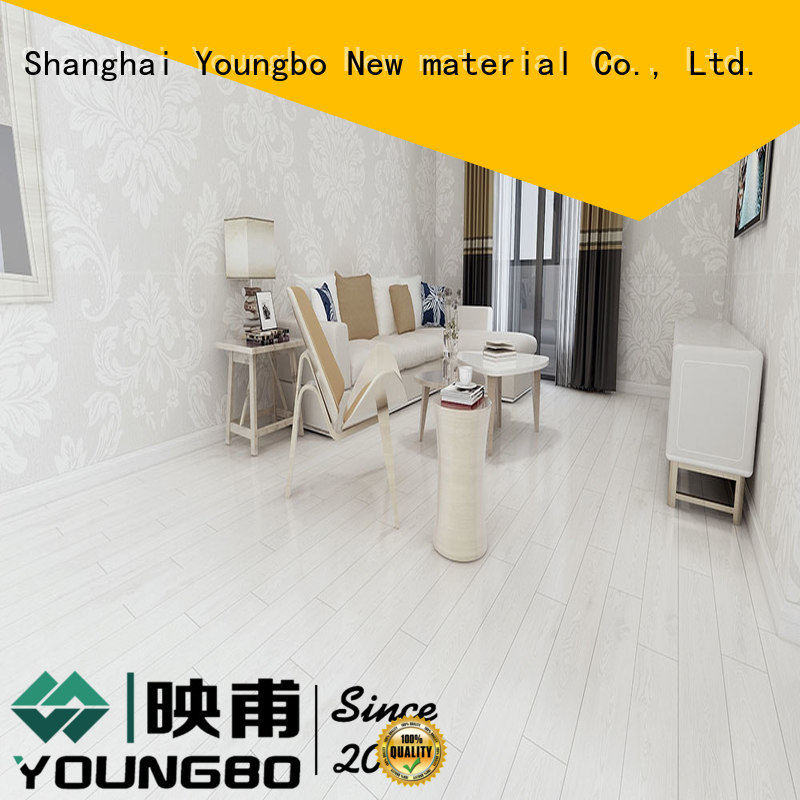 YOUNGBO Eco-friendly self adhesive vinyl floor tiles inquire now for commercail space