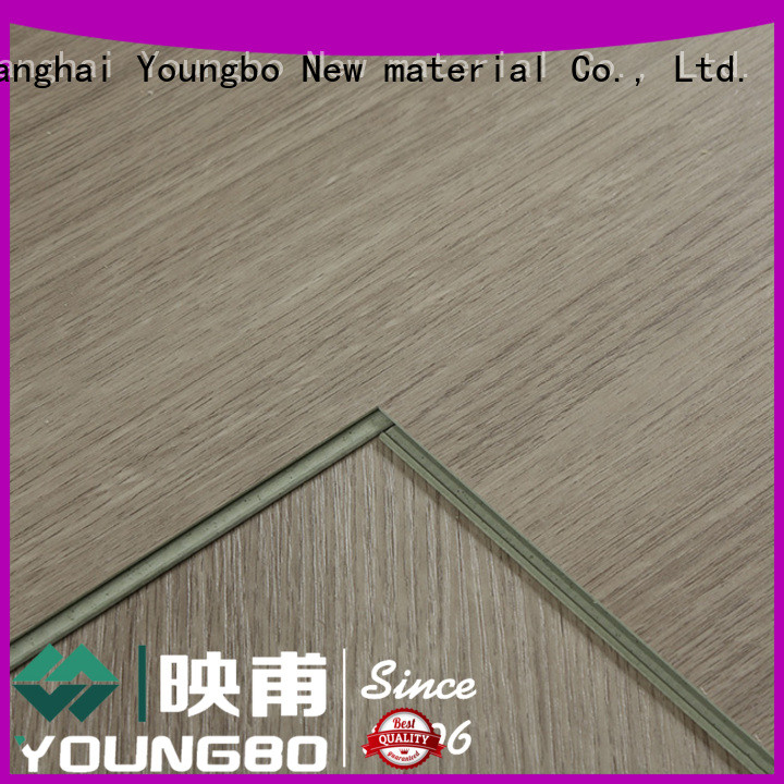 YOUNGBO cheap stone plastic composite chinese manufacturer for for Indoor Residential